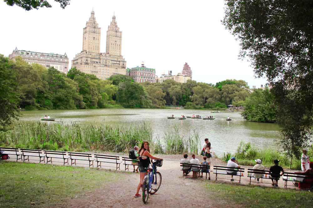 dicas nova york: Central Park de bike: ótima pedida em NY