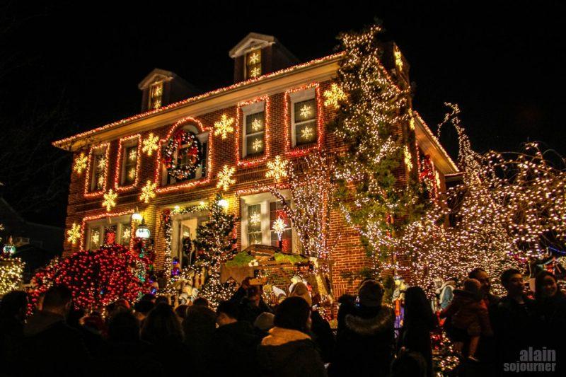 NY em dezembro: as casas decoradas de Dyker Heights