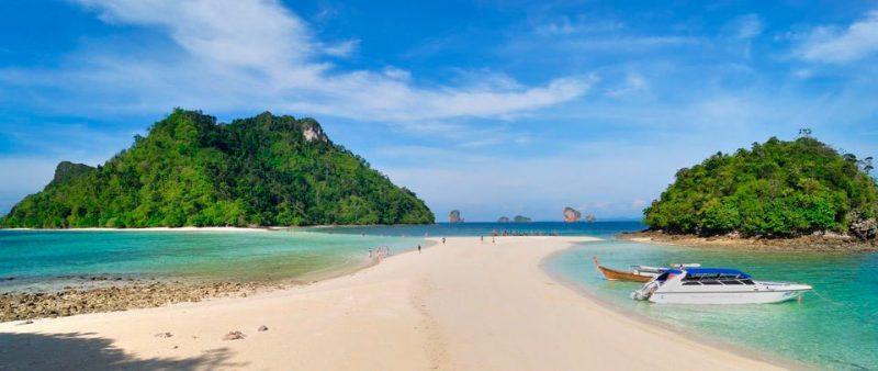 Viagem Tailândia e Sudeste Asiático railay 4 islands tour