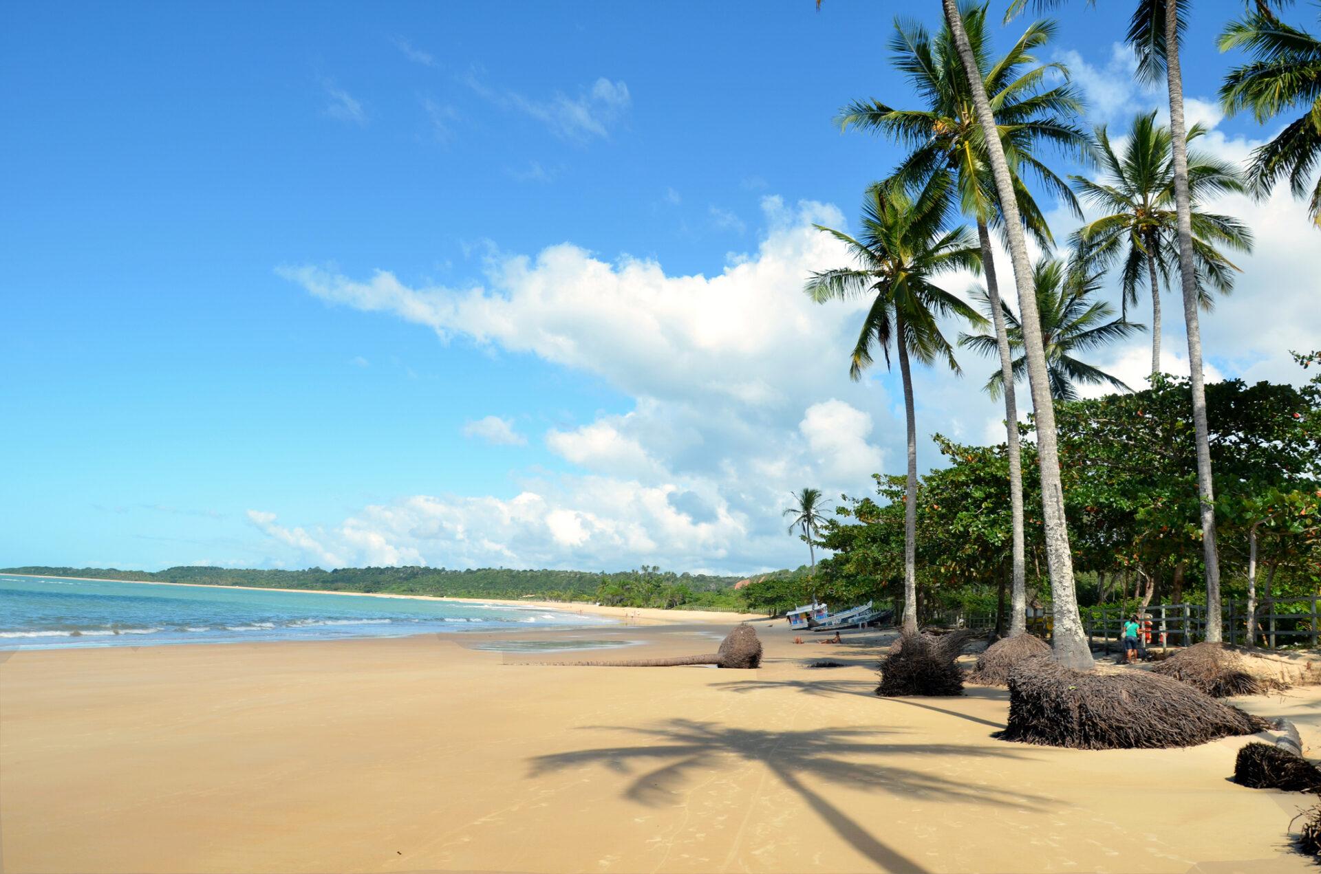 Praia dos Coqueiros, em Trancoso