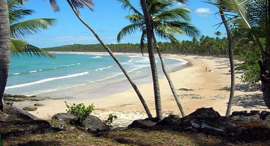 Bahia de carro: praia da cueira em boipeba