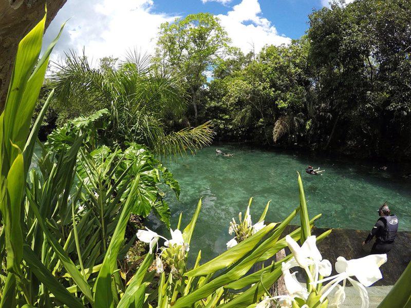 Lagoa Misteriosa, em Bonito