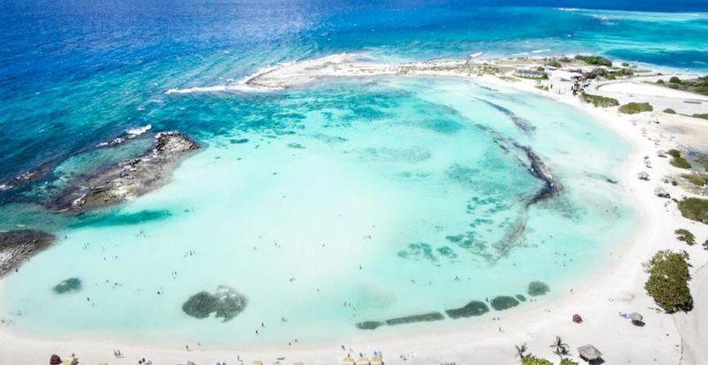 Ferias de Julho onde ir: Baby Beach, em Aruba