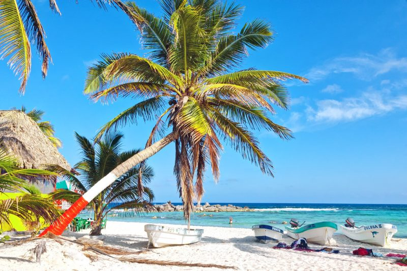 Praias em julho Cancún Tulum México