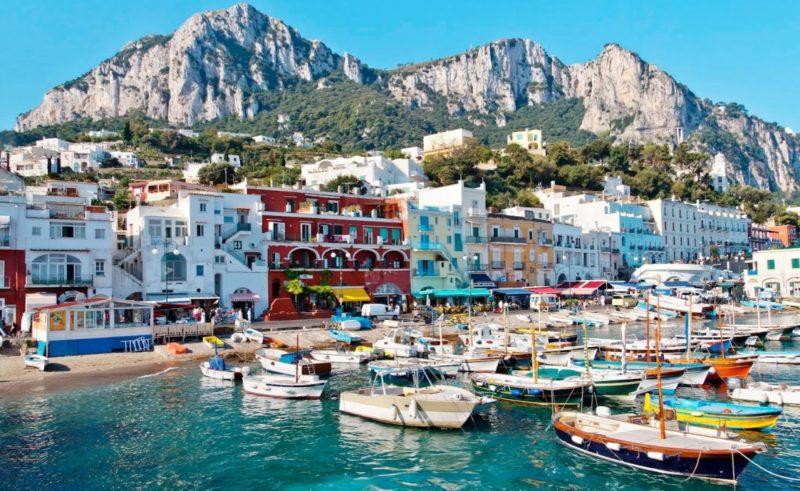 Onde ir nas Fférias de julho na europa:Capri