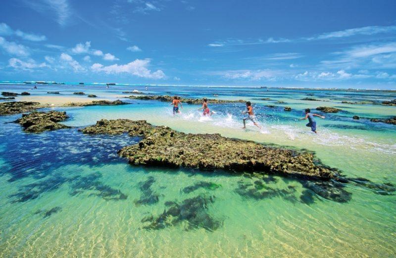 praia de flecheiras piscinas naturais