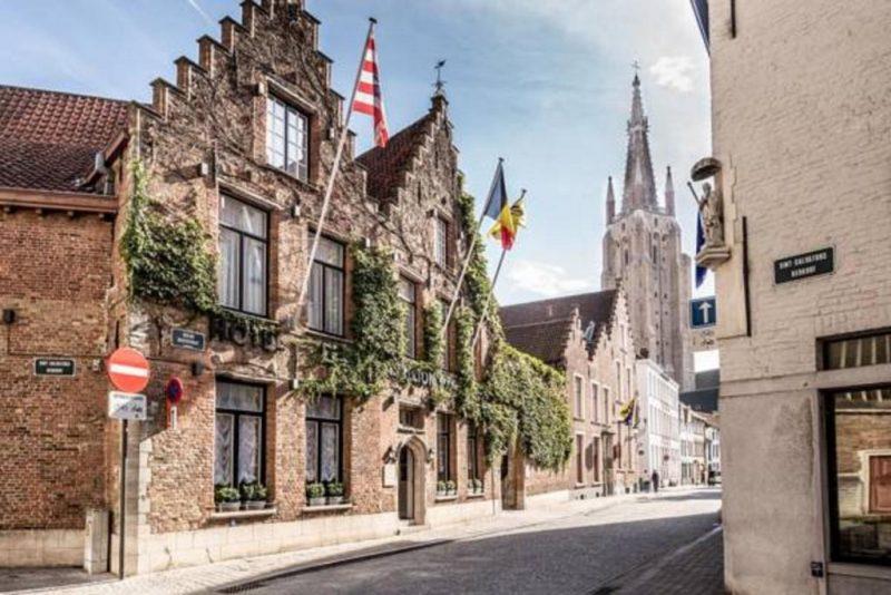 dicas de Bruges, hoteis e onde ficar