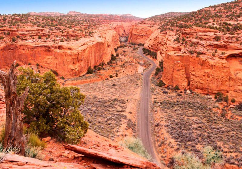 Estradas Byway Scenic Utah