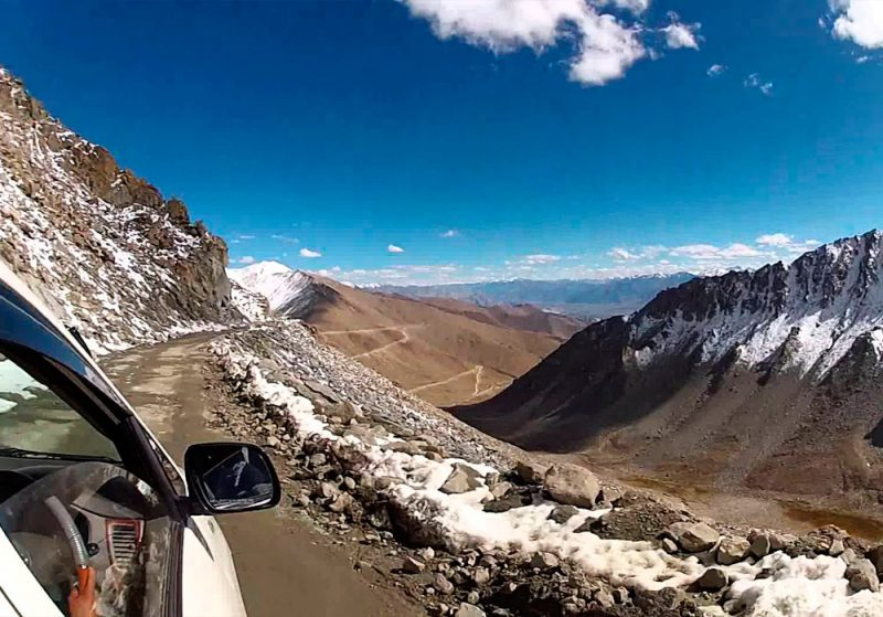 Estradas Khardung La Índia