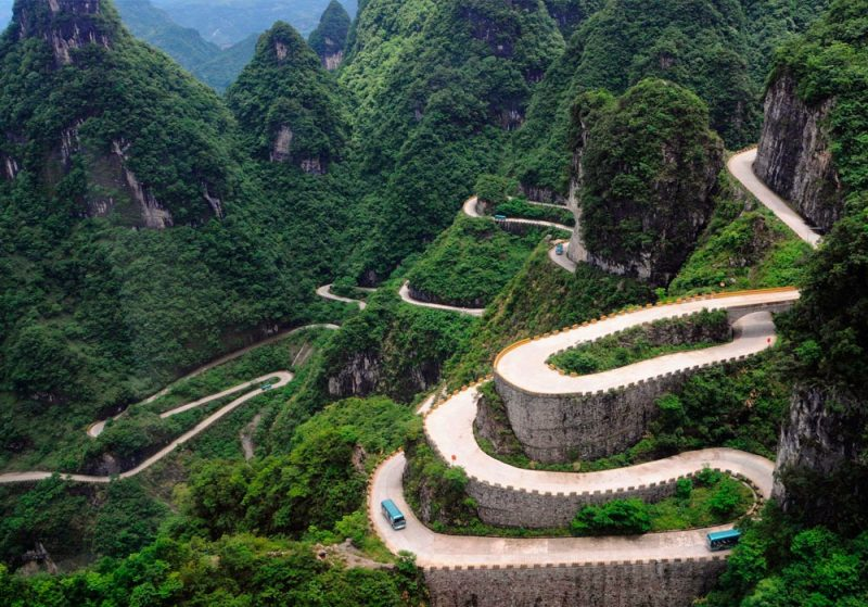 Estradas Tianmen China