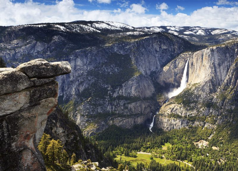 Yosemite em agosto