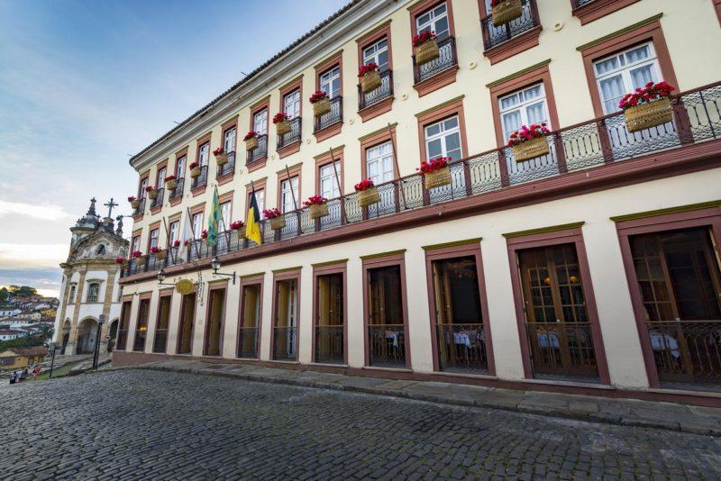 Onde ficar em Ouro Preto: Hotel Solar do Rosário.