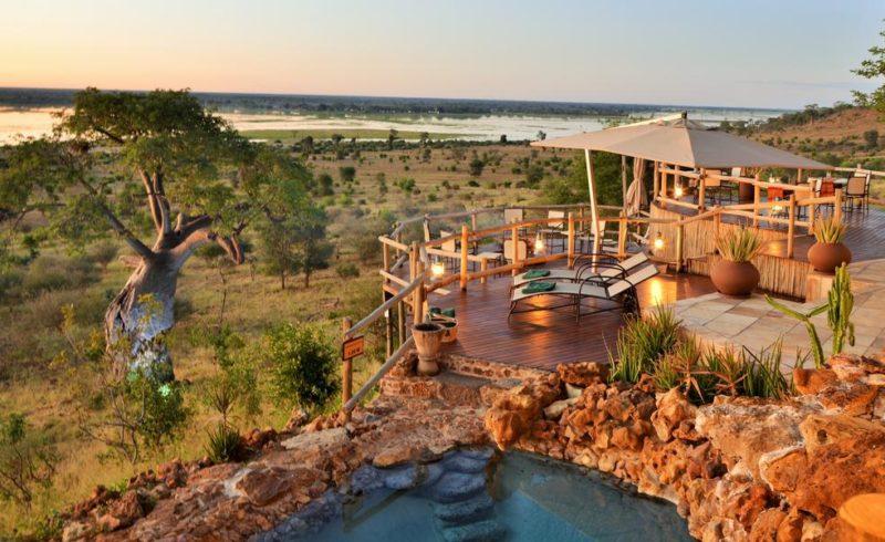 Onde ficar em Botswana: o luxuoso Ngoma Safari Lodge.
