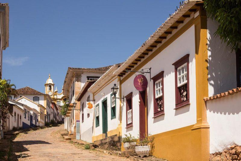 Onde ficar em Tiradentes: arquitetura da Pousada do Ó.
