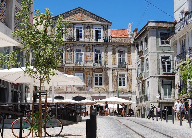 Bairro Chiado Lisboa