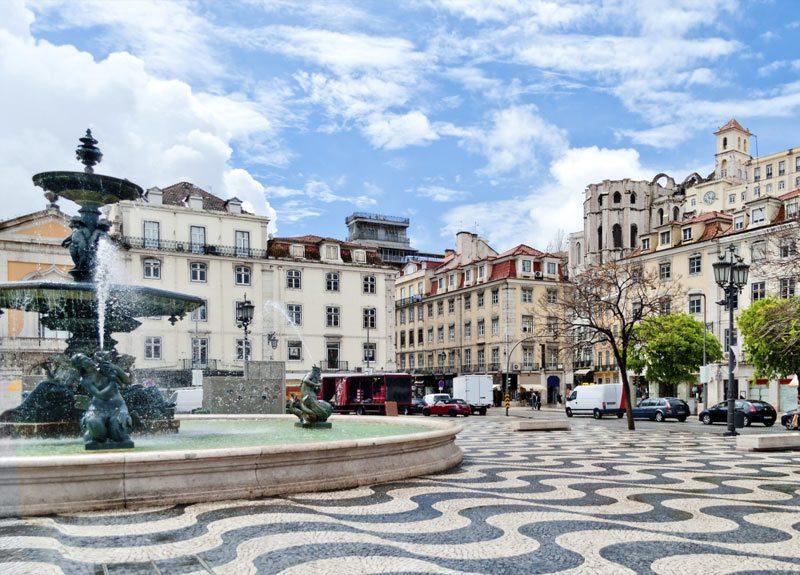 Bairro Rossio em Lisboa