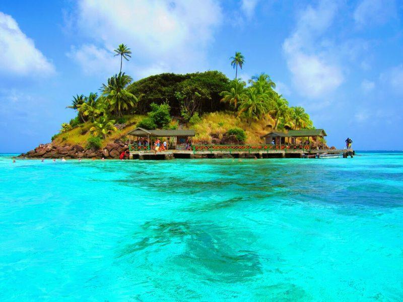 Praias mais lindas de San Andres: Cayo Canrejo