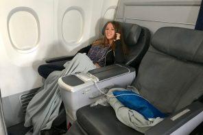 como é voar na Copa Airlines: classe executiva e econômica