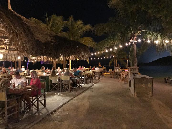 O restaurante Zanzibar, super fofo