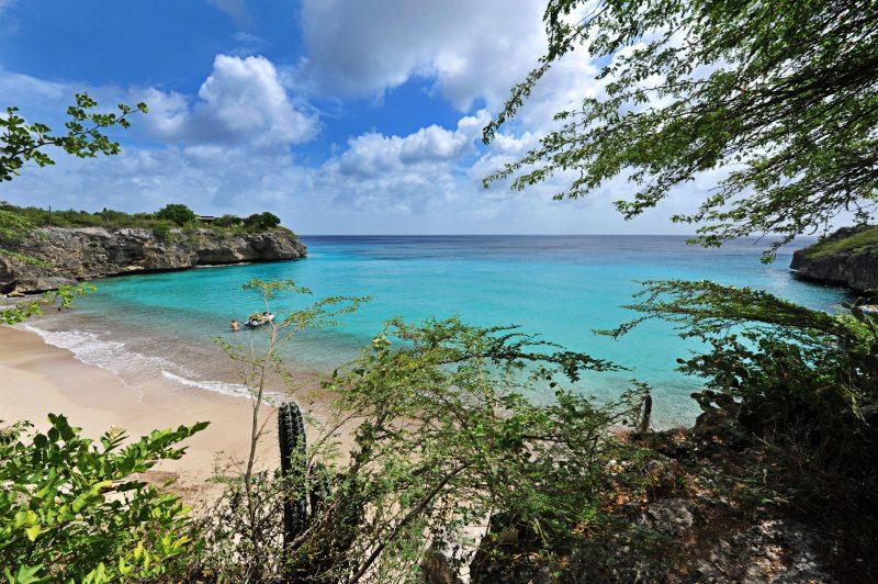 A vista de Kenepa Grandi, também uma das mais lindas de Curaçao