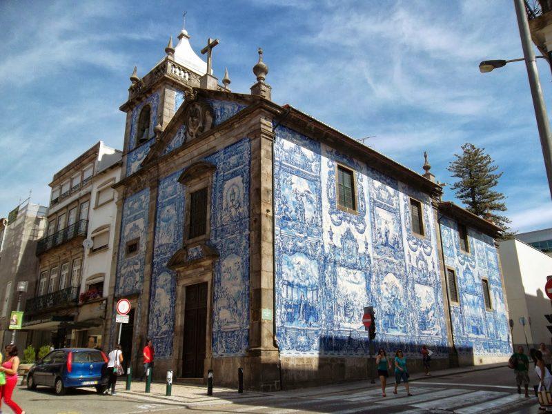 Viagem Portugal: Capela das Altas feita de azulejos