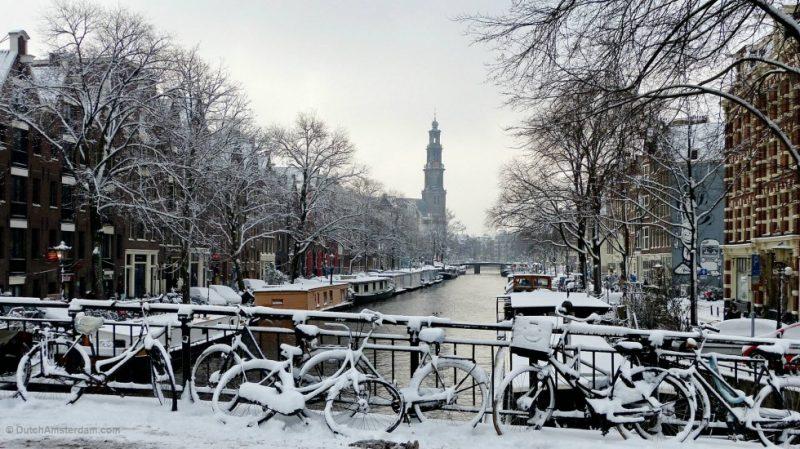 Amsterdam em janeiro
