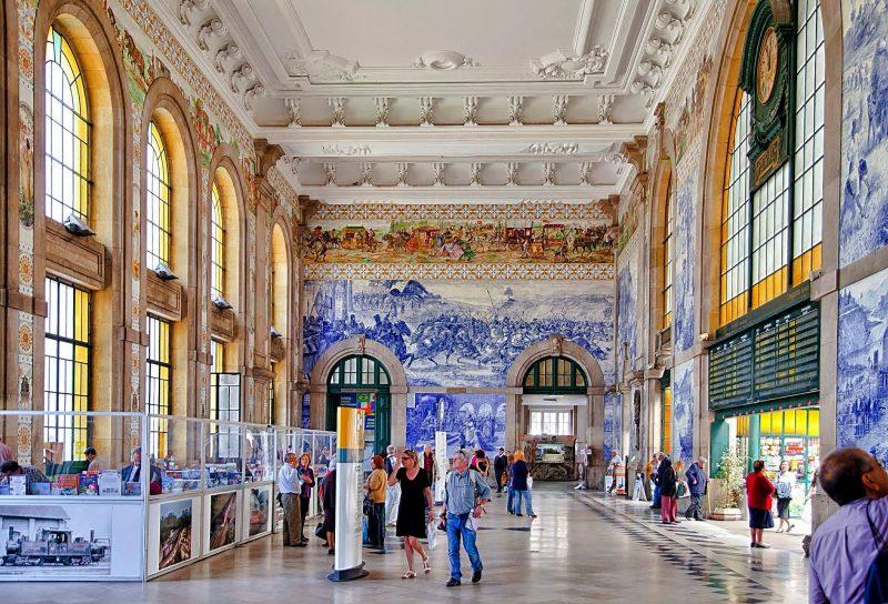 Dicas do Porto Portuga: A arquitetura tradicional da Estação de São Bento