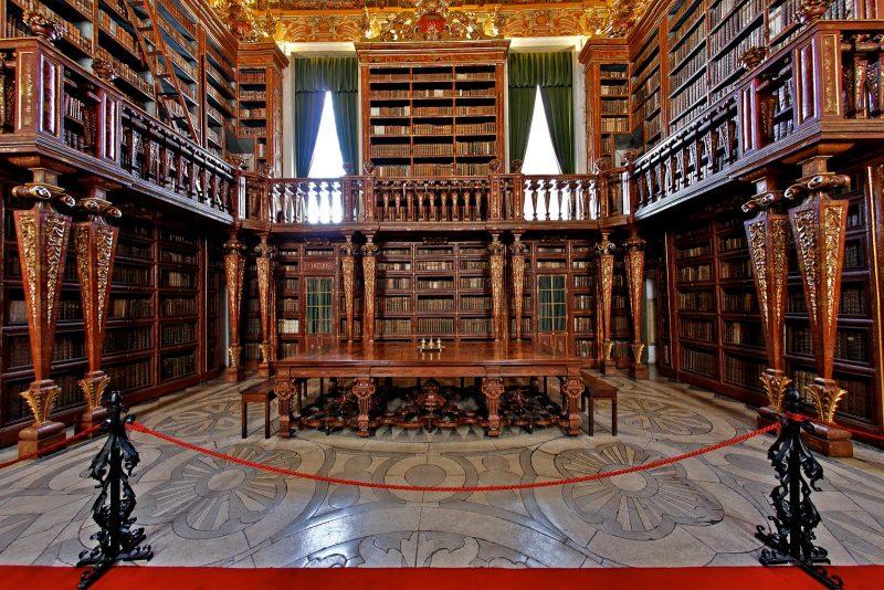 Biblioteca Joanina - Coimbra