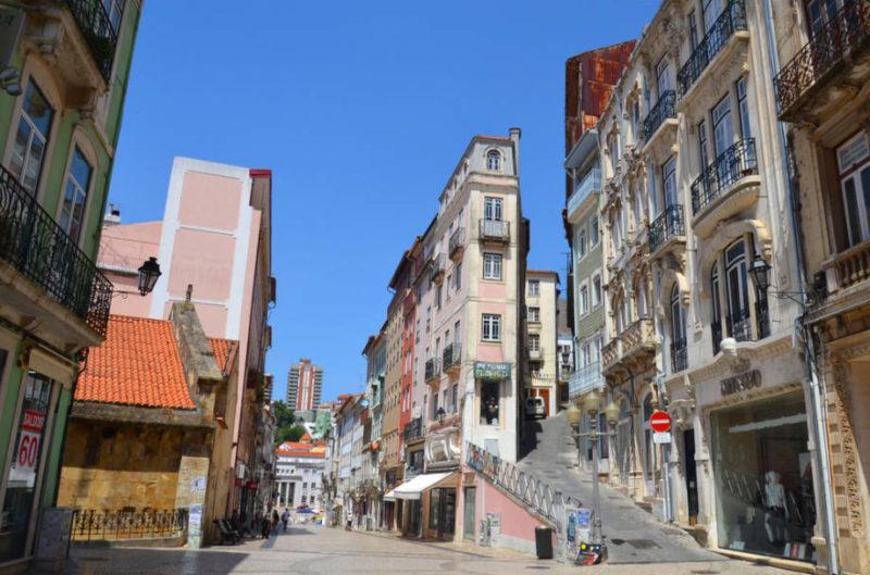 Dicas de viagem por Portugal: A parte baixa de Coimbra