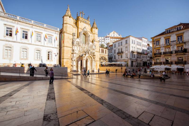 O que fazer em Coimbra: mosteiro de Santa Cruz