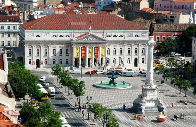 O que fazer em Lisboa: A linda Praça do Rossio