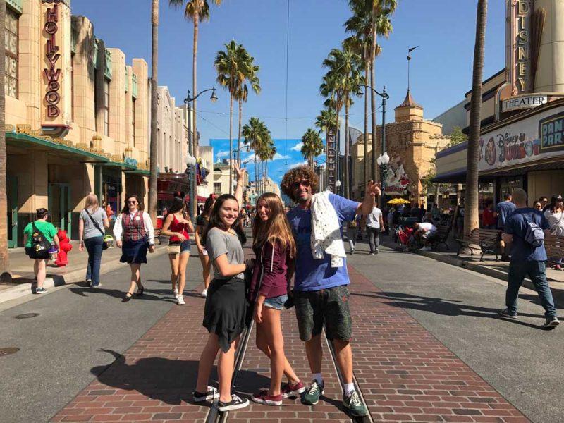 Disney Adventures: parque de diversões em L.A