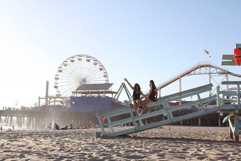 Dicas California: o pier de Santa Monica, um clássico!