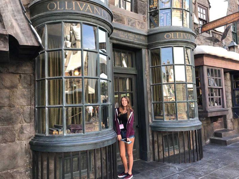 O Parque da Universal em Los Angeles e o mundo de Harry Potter