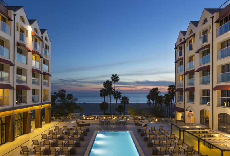 hotels em santa monica Los angeles