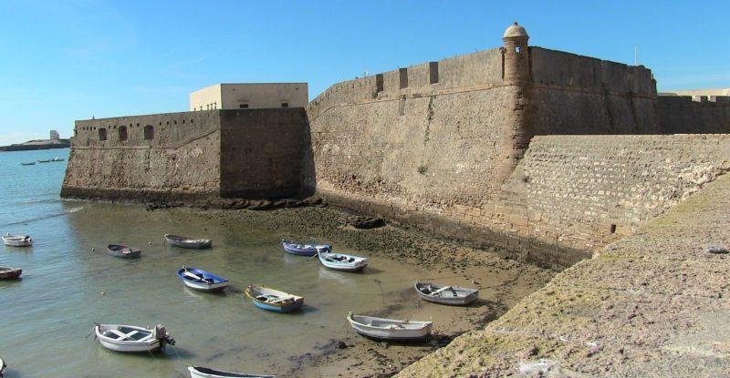 Fortaleza de Santa Catalina em Cádiz