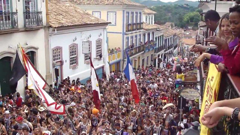 Para onde viajar em fevereiro no Brasil: Carnaval Ouro Preto