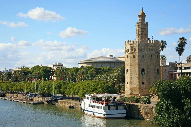 Monumentos de Sevilha espanha pontos de interesse