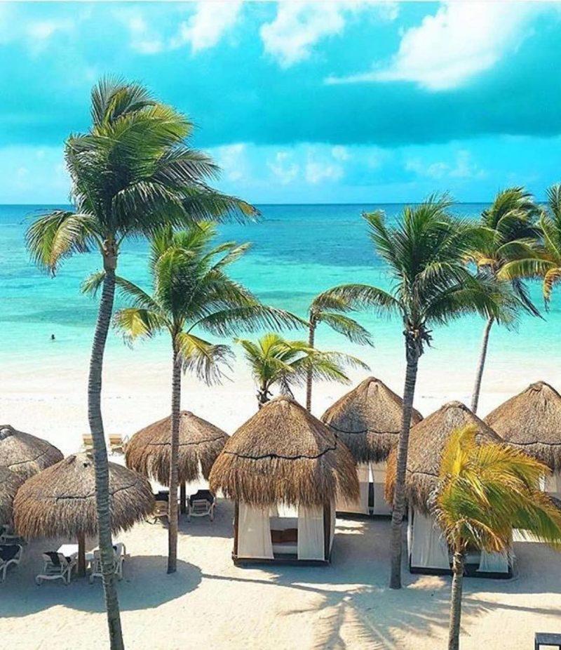 melhores praias de Cancun