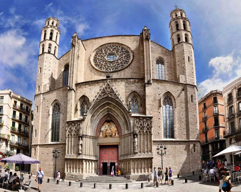 roteiro barcelona Basílica de Santa Maria del Mar