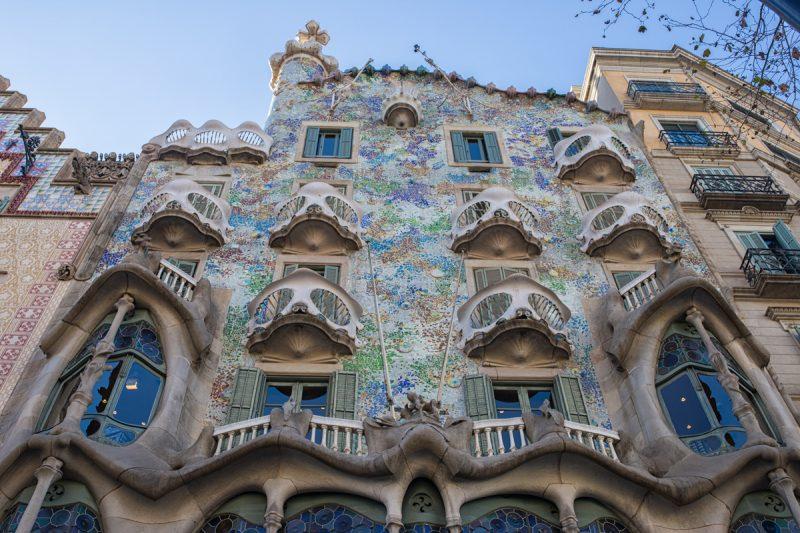 5 dias em barcelona atrações gaudi Casa Batlló