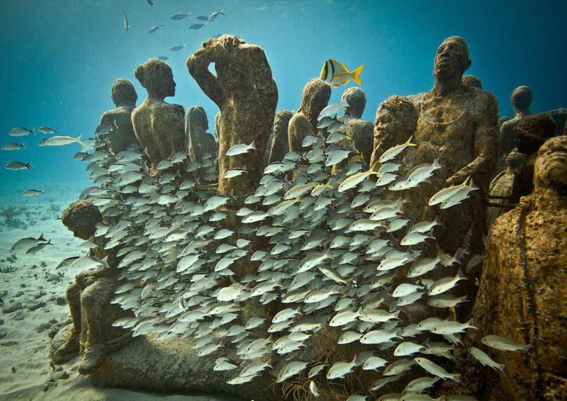 O MUSA: museu de artes subaquático de Cancún