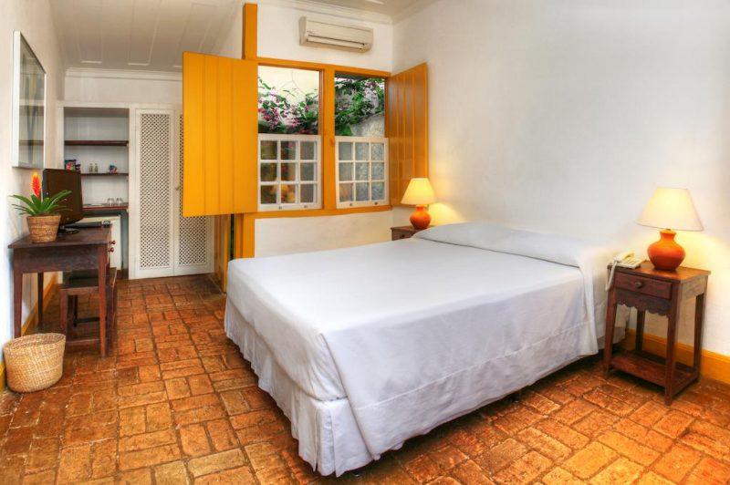 Dicas de hotéis em Paraty: Quarto da Pousada do Ouro.