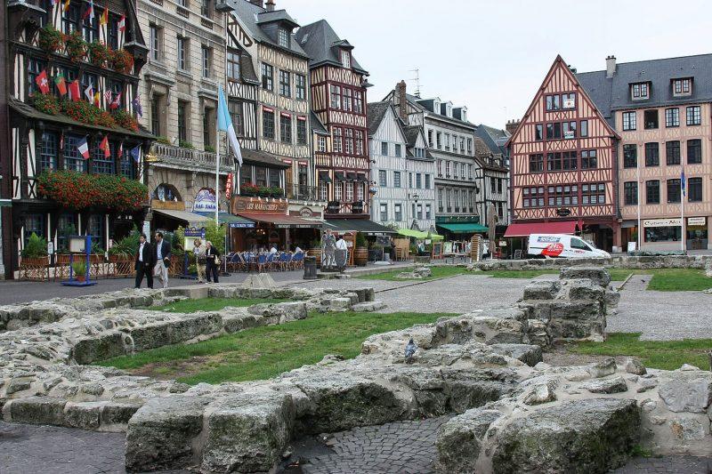Cidades medievais perto de Paris para ir de trem: Rouen