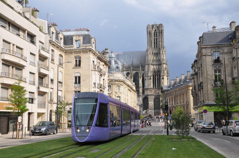 Cidades próximas de Paris: Reims