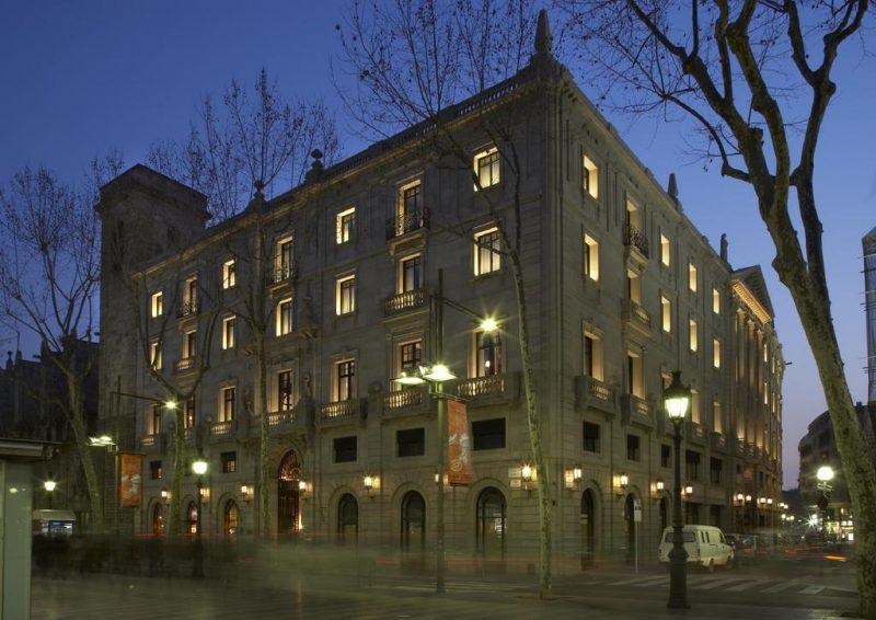 hotel nas Ramblas, em Barcelona