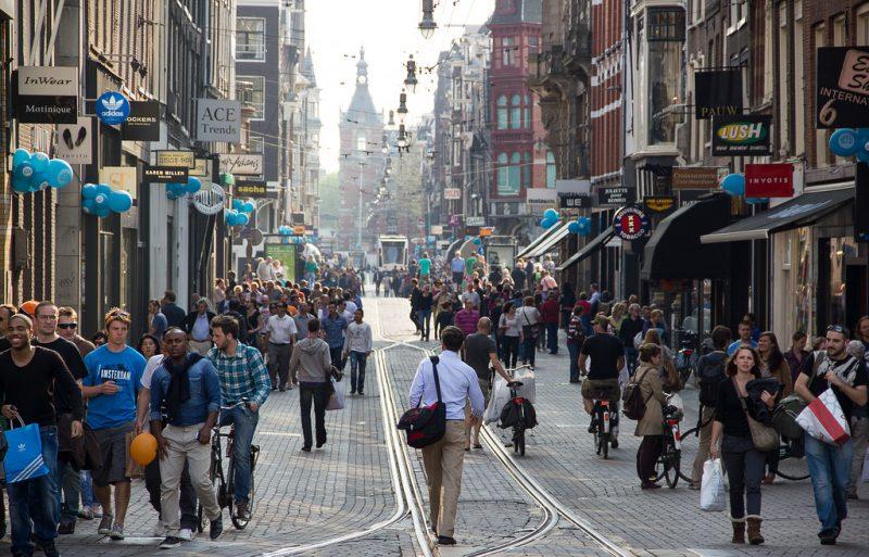 E animada Leidsestraat