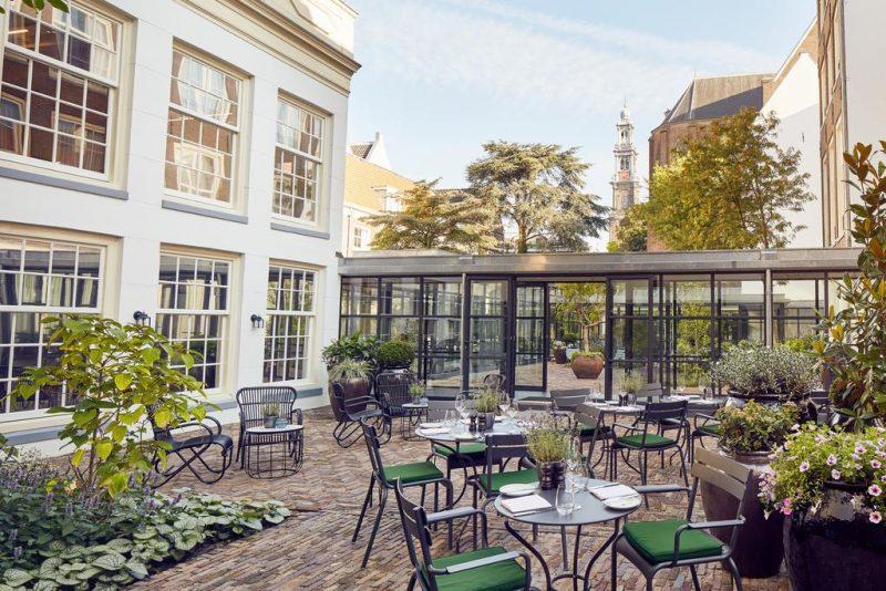 Melhores hotéis de luxo de Amsterda