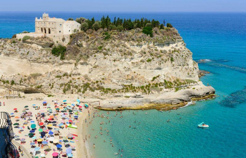 Praias na Itália