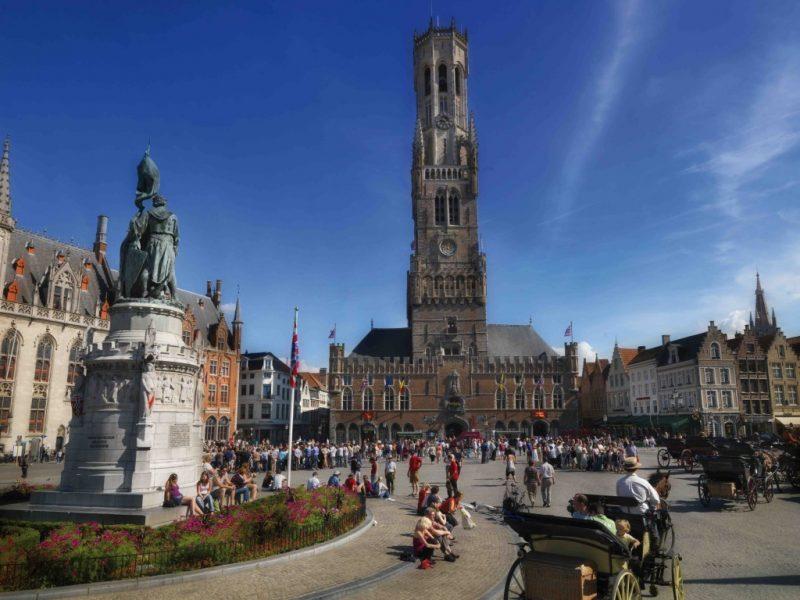 o que fazer em Bruges e Amsterda